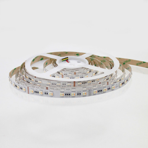 RGB+CCT (2400K-6500K) LED Tape, 12V, 60 LED (5 Metre Reel)