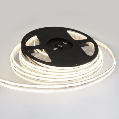Pro Series Spot Free COB Continuous LED Tape, 24V, 11.2Wp/m 980LM, 90 CRI, Neutral White 4000K, 5M reel