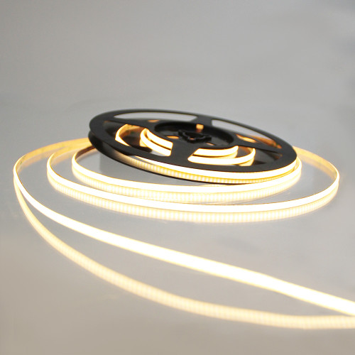 Pro Series Ultra Slimline  Spot Free COB Continuous LED Tape, 24V, 10Wp/m 610LM, 90 CRI, Very Warm White 2700K, 2.5M reel