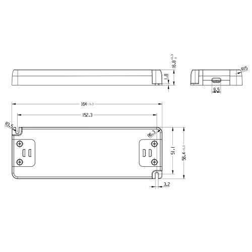 Tagra® Professional 12V Constant Voltage LED Driver 100W_2