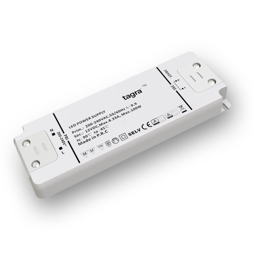 Tagra® Professional 12V Constant Voltage LED Driver 100W_1