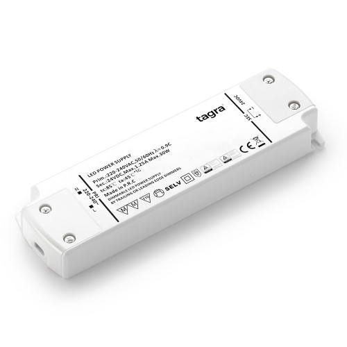 Tagra® Professional 24V TRIAC Dimmable Constant Voltage LED Driver 30W