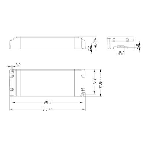 Tagra® Professional 24V Constant Voltage LED Driver 320W