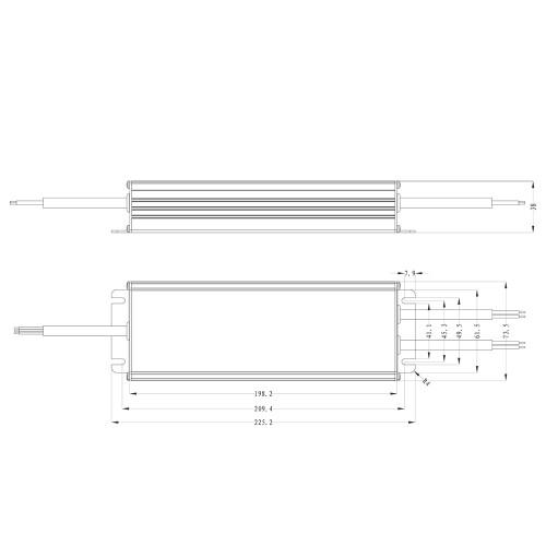 Tagra® Professional IP67 24V Constant Voltage LED Driver 320W