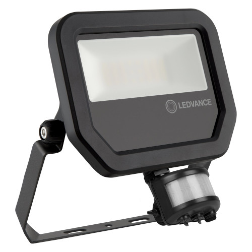 LEDVANCE 20W LED Floodlight - IP65 - With PIR - 2200Lm - 3000K