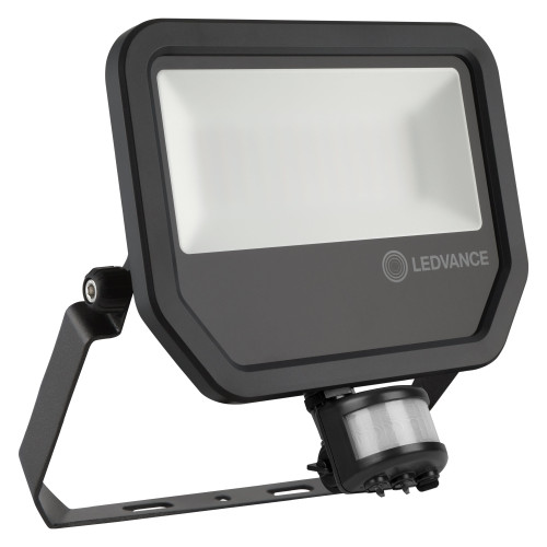LEDVANCE 50W LED Floodlight - IP65 - With PIR - 6000Lm - 4000K