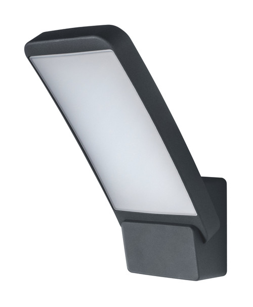 LEDVANCE ENDURA® Style Wall Square Outdoor Light, 12W, 3000K, Dark Grey