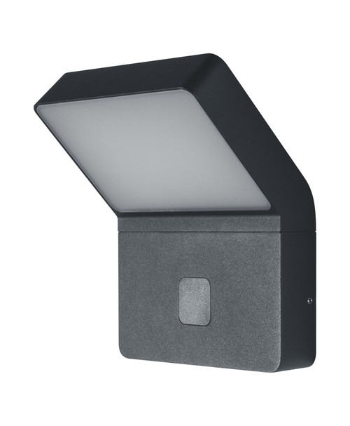 LEDVANCE ENDURA® Style Wall Wide Outdoor Light, With PIR, 12W, 3000K, Dark Grey