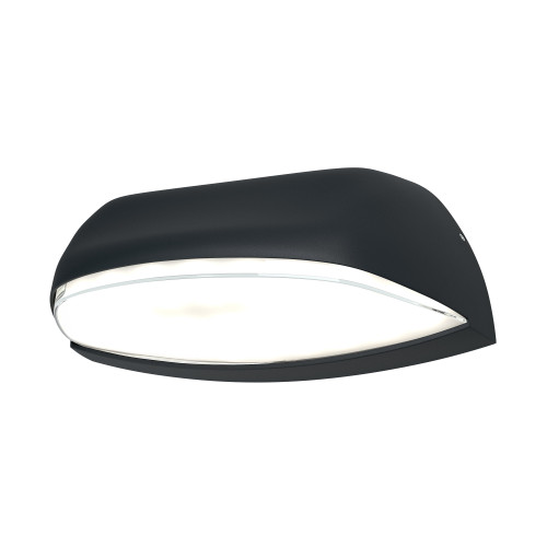 LEDVANCE ENDURA® Style Wide Outdoor Wall Light, 12W, 3000K, Dark Grey
