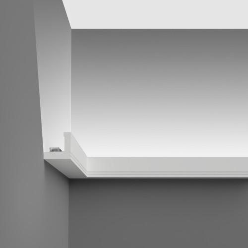 Stripe U-Shaped High Density Polyurethane Wall Coving