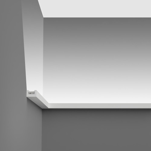 U Shape High Density Polymer Wall Coving