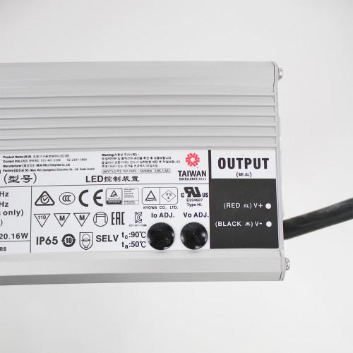 320W 24V Meanwell LED Driver, IP65
