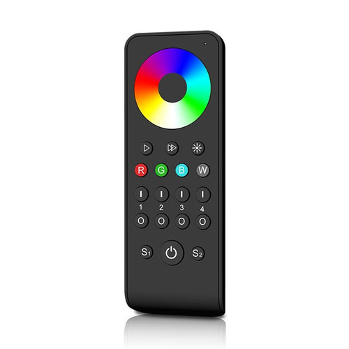 RGB/RGBW Multi Zone Precision Touch Handheld 2.4GHz Wireless Remote Controller