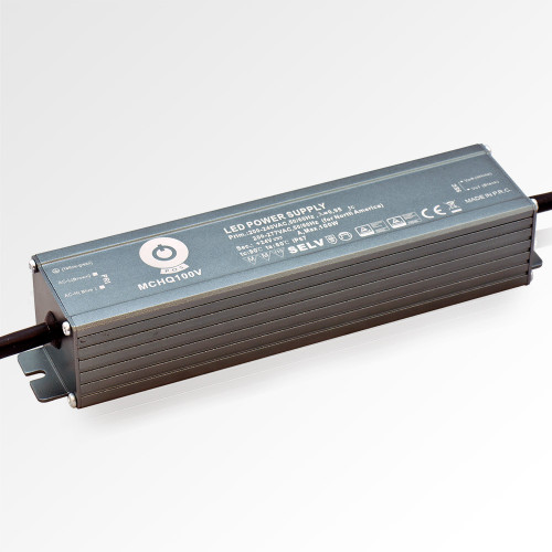 Professional IP67 Power Supply for 24V LED Strip Lights, 100W, 4.1A