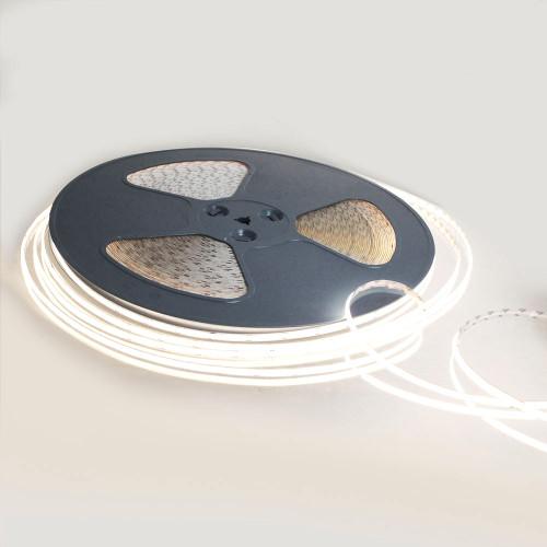 Pro Series Spot Free COB Continuous LED Tape, 24V, 11.2Wp/m 980LM, 90 CRI, Neutral White 4000K, 50 Metre Reel