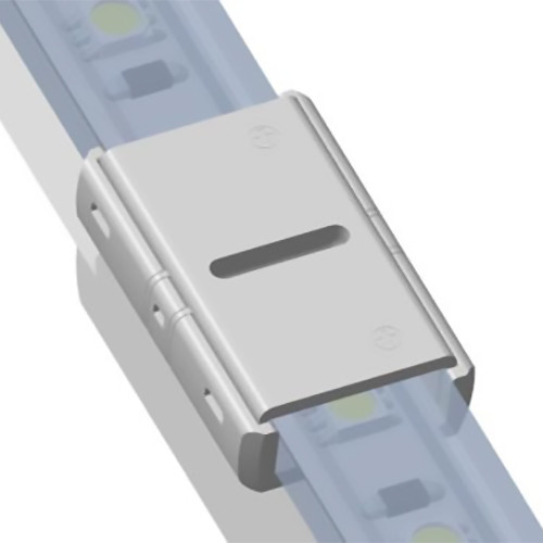 Solderless IP Tape To Tape Connector for 10mm 2 Core Single Colour LED Tapes