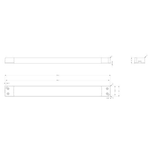 Tagra® Slimline Professional 24V Constant Voltage LED Driver 60W