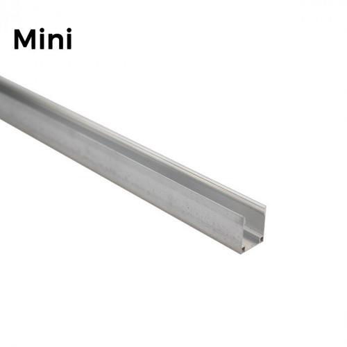 LED Neon Flex Mini Aluminium Track Mounting Bracket - 2 Metre Length