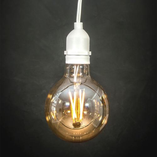 G95 Globe 6w LED Filament Bulb (E27) EasyDim