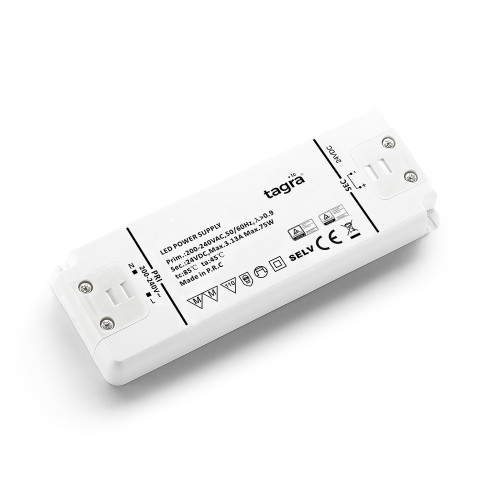 Tagra® Professional 24V Constant Voltage LED Driver 75W