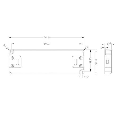 Tagra® Professional 24V Constant Voltage LED Driver 30W