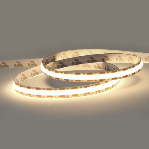 12V Professional COB Continuous LED 9w p/m 3000K CRI>90, 2.5 Metre Reel