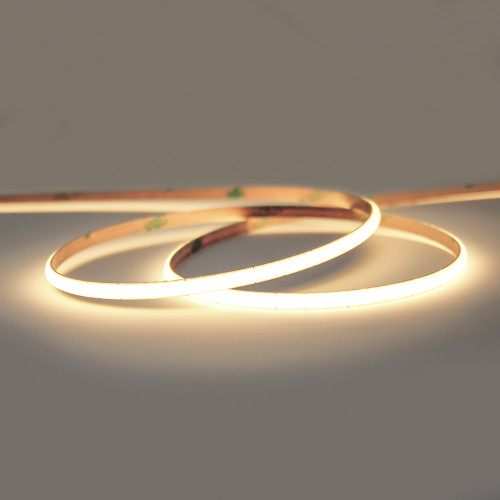 24V Professional Micro Width COB Continuous LED 10w p/m 3000K CRI>90, 2.5 Metre Reel