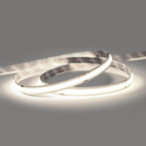 24V Professional COB Continuous LED 11.2w p/m 4000K CRI>90, 5 Metre Reel