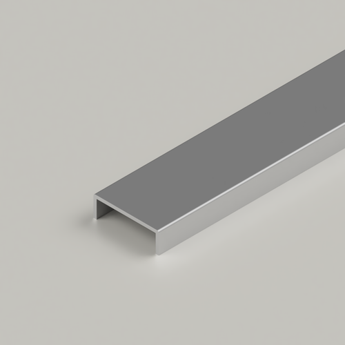 LED Mounting Channel for Surface Mounted Connectable Aluminium Channel 23x25mm, 2 Metres