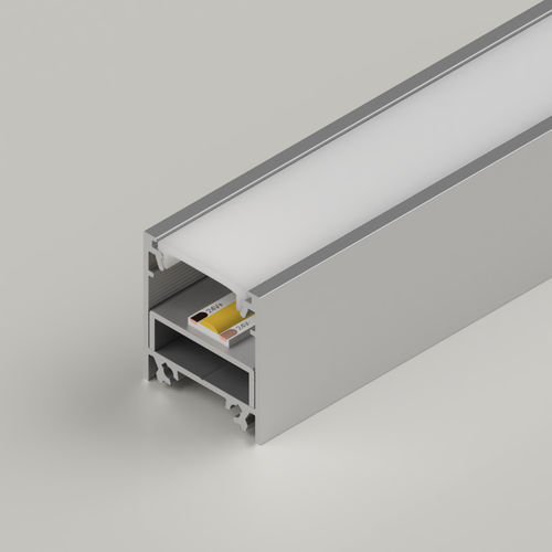 LED Mounting Channel for 23x25mm Aluminium Channel, 3 Metres