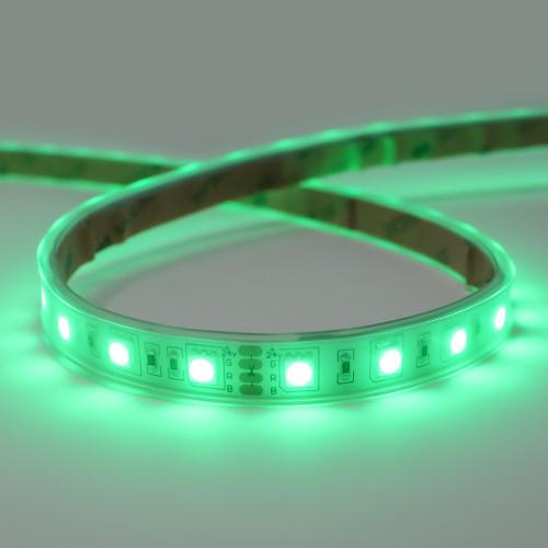 24V Essential Toning Series LED Strip, 60 LEDs, 14.4w Per Metre, RGB Colour Changing, 5 Metre Reel, IP65