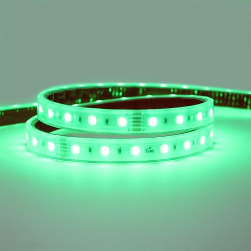 24V Professional Toning Series LED Tape, RGB+6000K, CRI >90, 60 LEDs p/m, 19.2w p/m, 5 Metre Reel, IP67