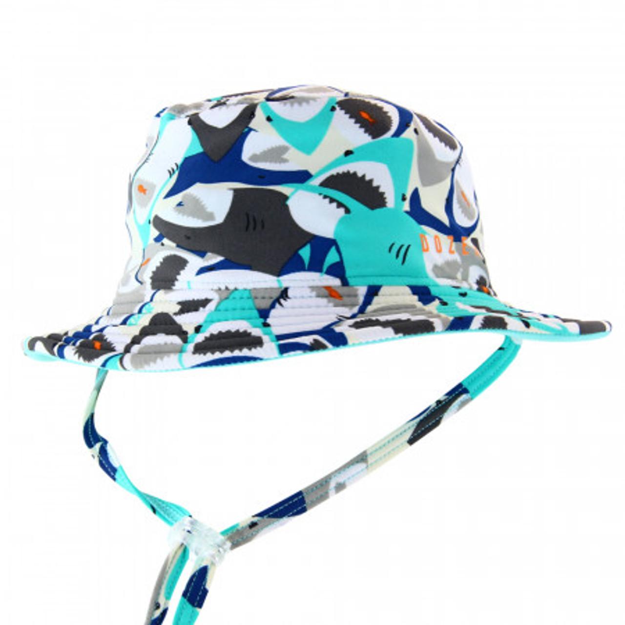Jayce Kids Blue Bucket Hat Dozer