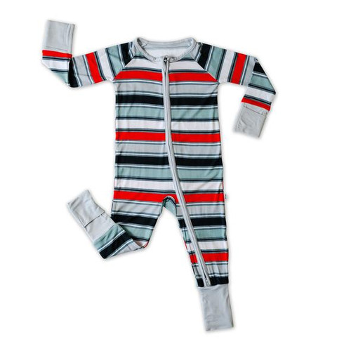 ROMPER SLEEPER WINTER STRIPE