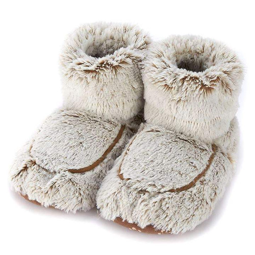 WARMIES BOOTS MARSHMALLOW BROWN