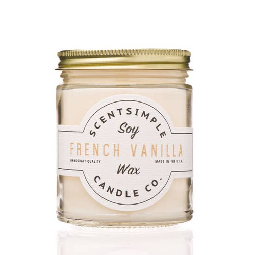 SOY WAX CANDLE FRENCH VANILLA