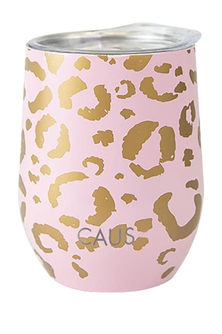 CAUS SMALL DRINK TUMBLER | LEOPARD