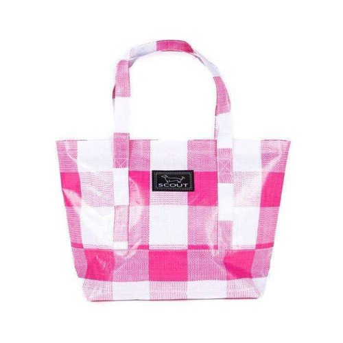 SCOUT TOTEWORTHY - PINK CHECK
