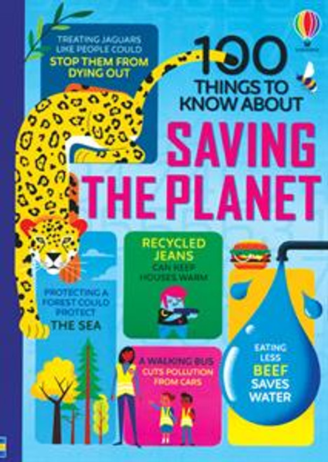100 THINGS KNOW ABOUT SAVING THE PLANET
