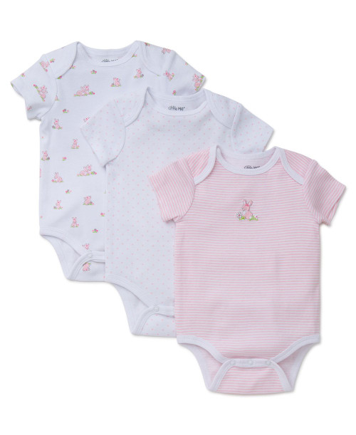 BUNNIES 3 PACK BODYSUITS