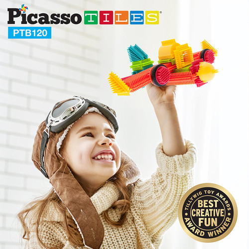 120 PIECE BRISTLE BASIC TILES