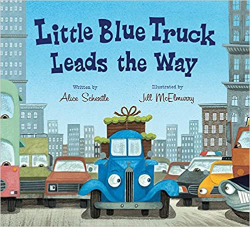 LITTLE BLUE TRUCK LEADS THE WAY BOARDBOOK