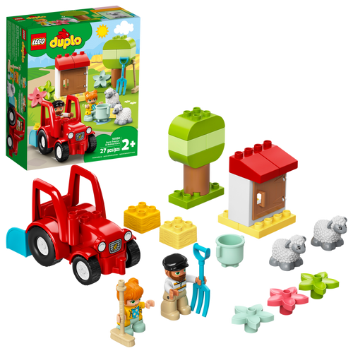LEGO© FARM TRACTOR & ANIMAL CARE