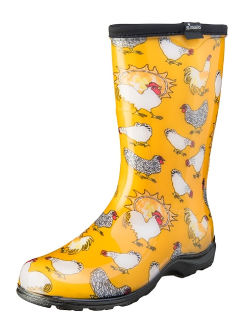 WOMANS BOOT CHICK YELLOW