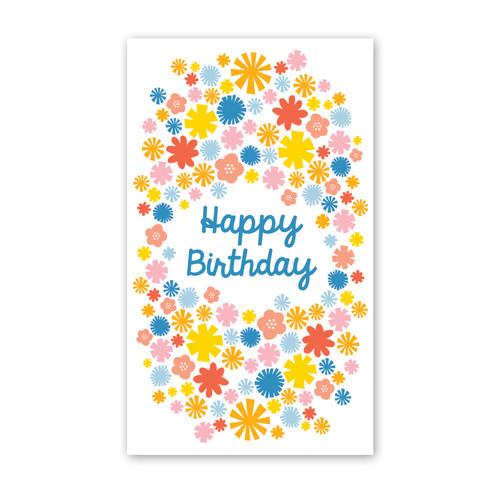 ENCLOSURE CARD MINI FLORAL BIRTH