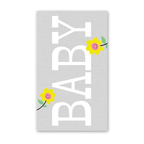 ENCLOSURE CARD BIG BABY