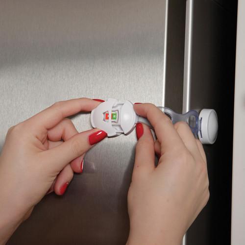 DREAMBABY EZY-CHECK WHITE PLASTIC SAFETY LATCH 1 PK