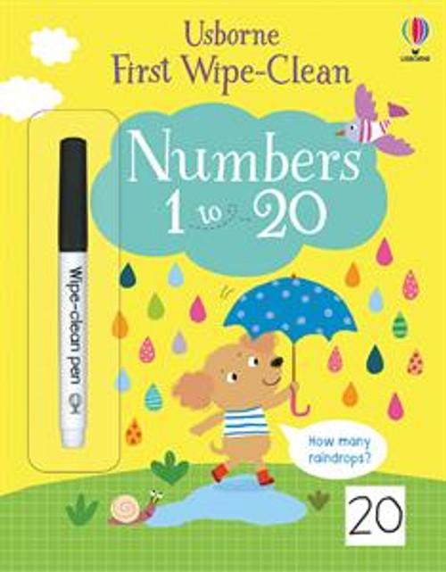 1ST WIPE-CLEAN NUMBERS
