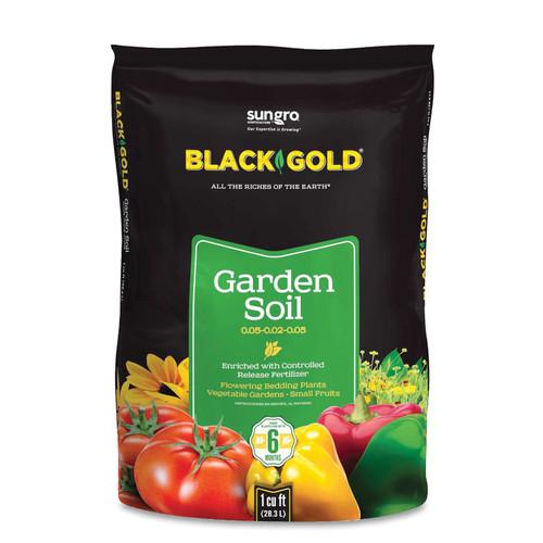 BLACK GOLD GARDEN SOIL 1 CU FT