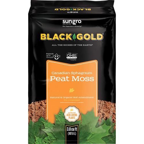 Black Gold Organic Sphagnum Peat Moss 3.8 cu. ft